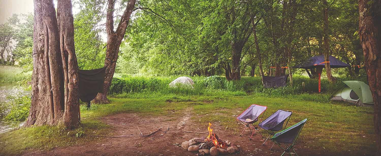 Allegheny River Camping