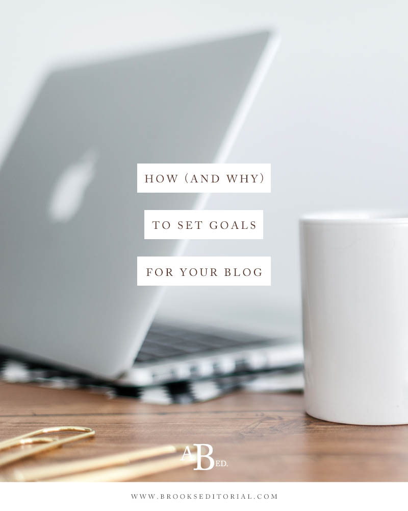 Not sure what to blog about for your creative business? Setting blog goals can show you the answer! This post has everything you need to get started.
