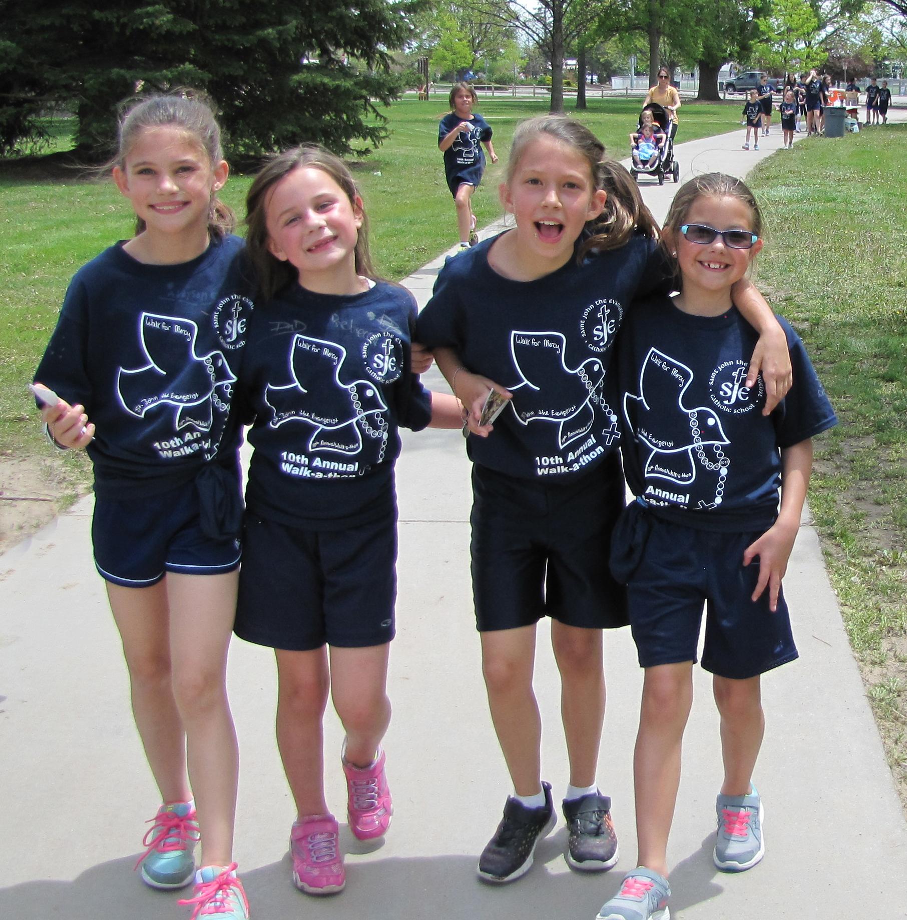 Christian school walk-a-thon 2