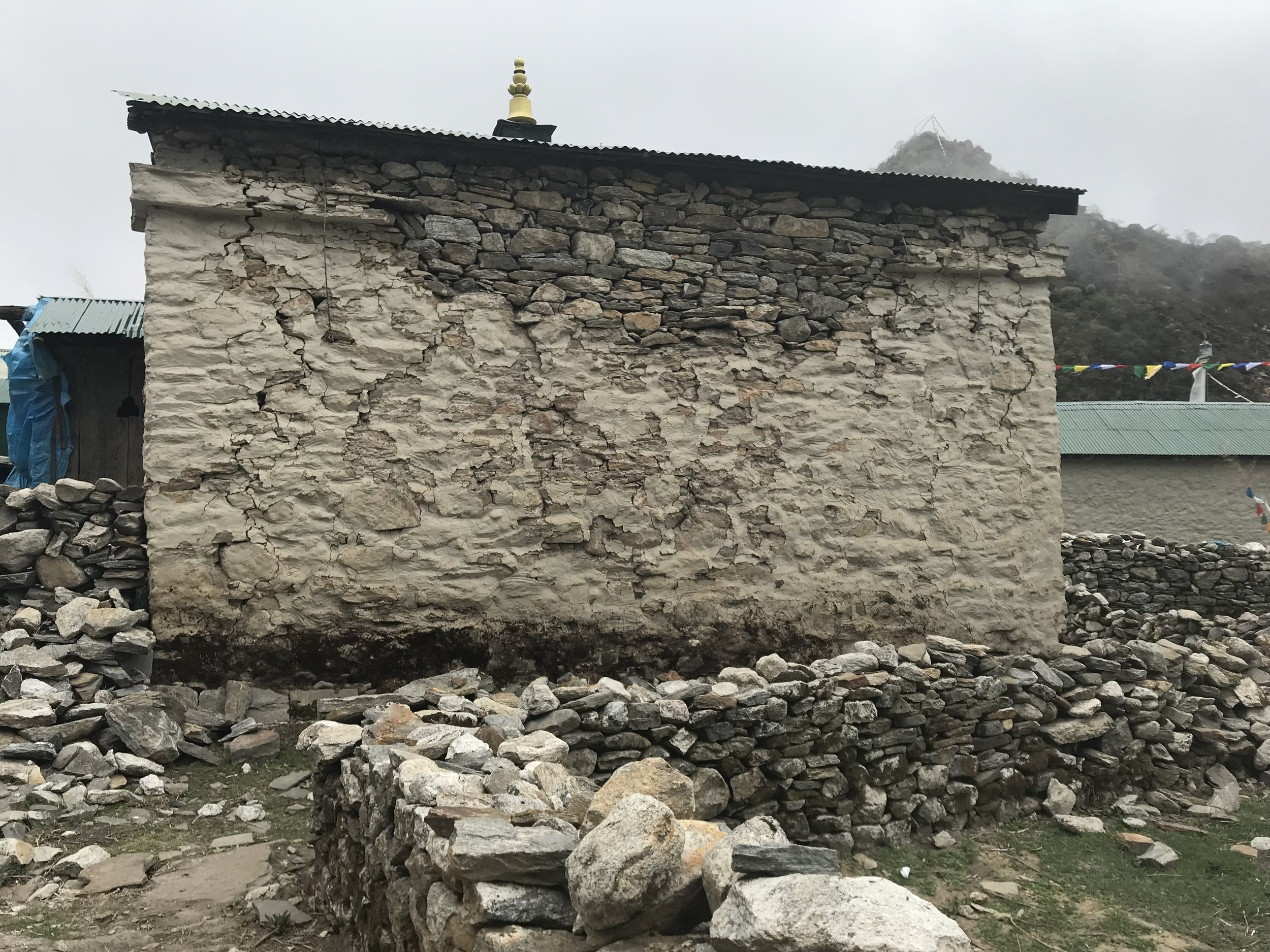 Copy of Gompa: Cracked rear wall