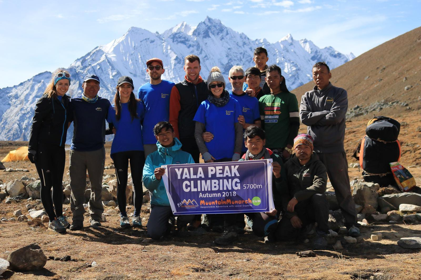 The successful 2018 Team Yala
