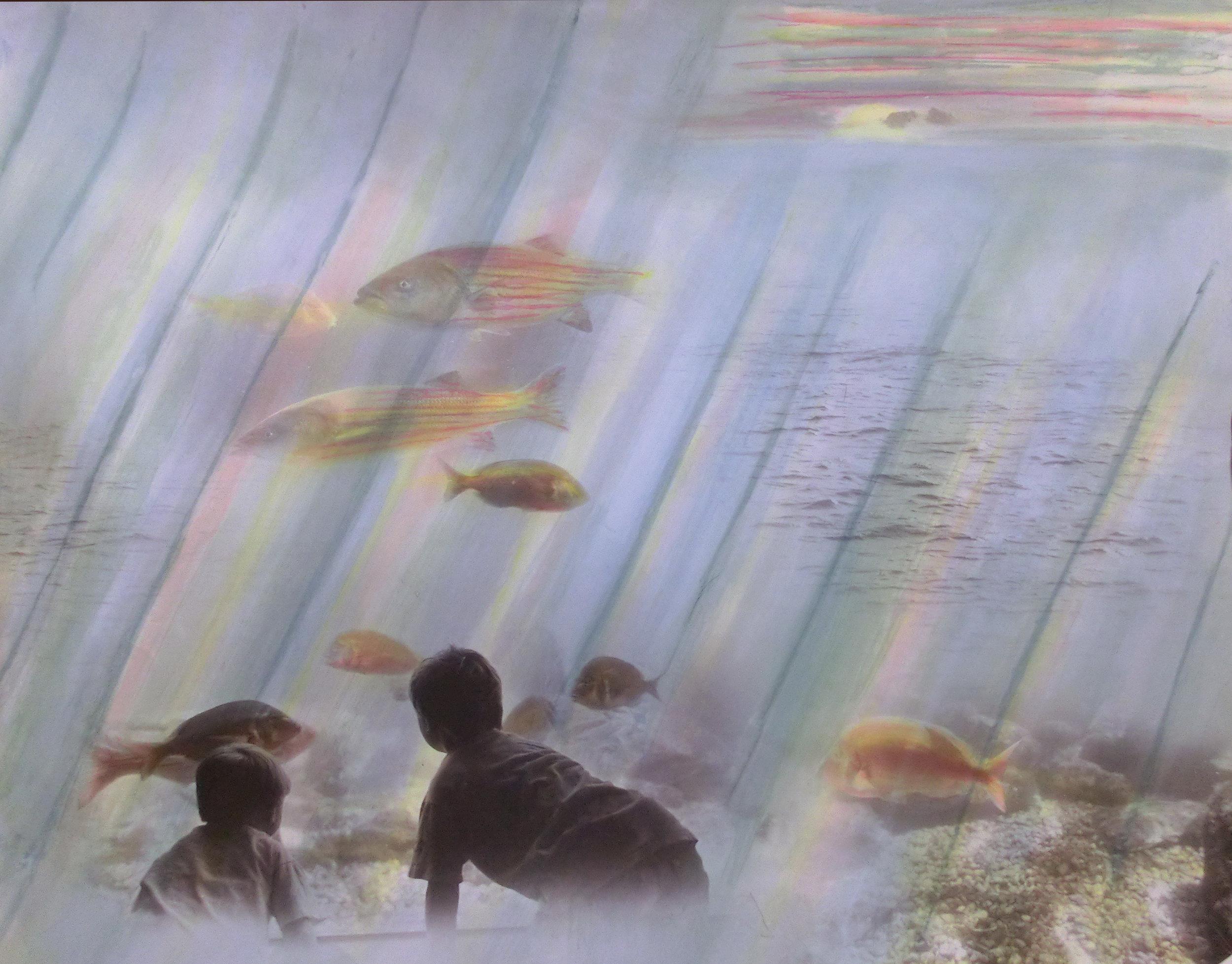Underwater Sunset- wonderment II