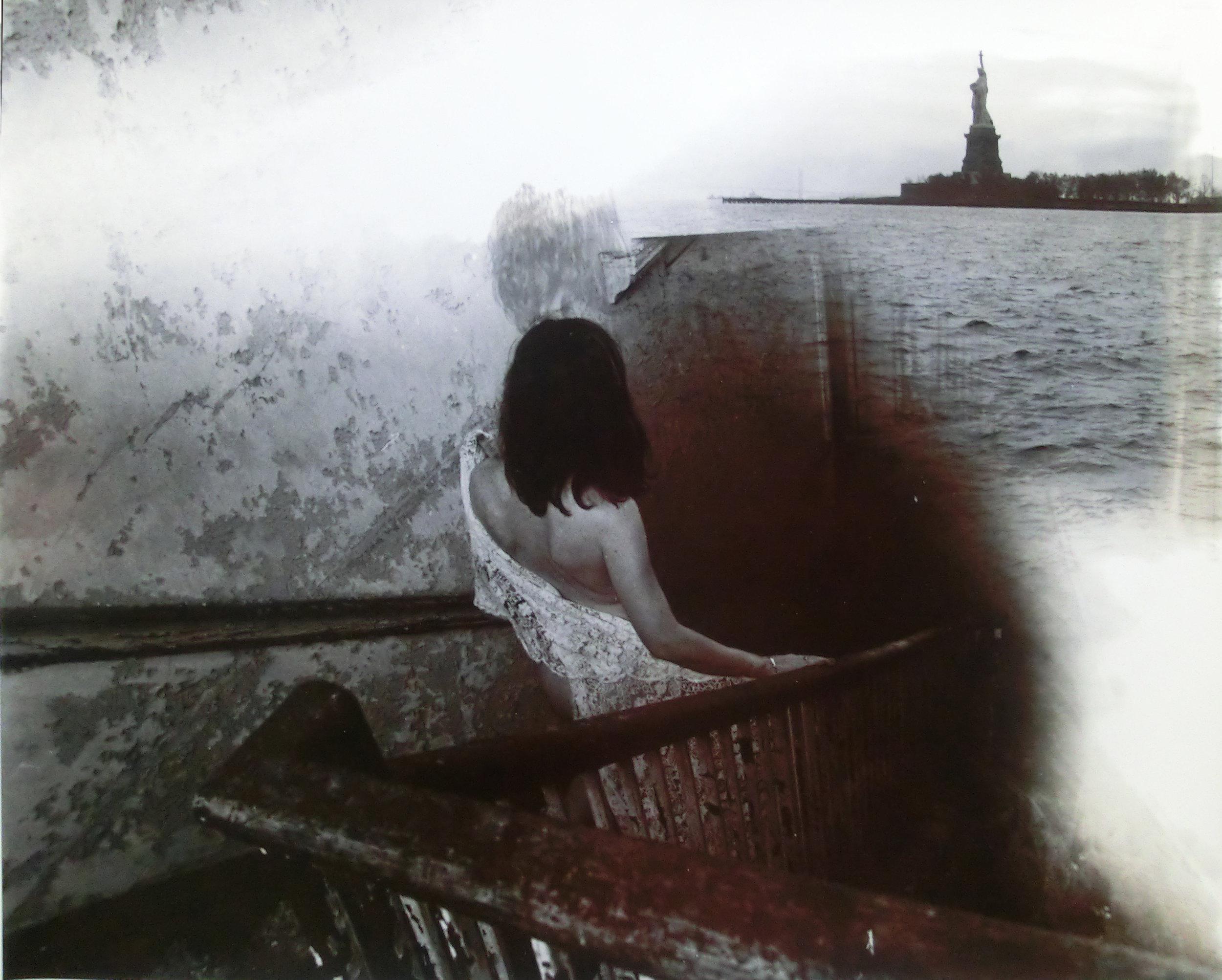 Loren Ellis 11 by 14 in 300 DPI Liberty of her throne 2 0f 2 Ellis island series.jpg