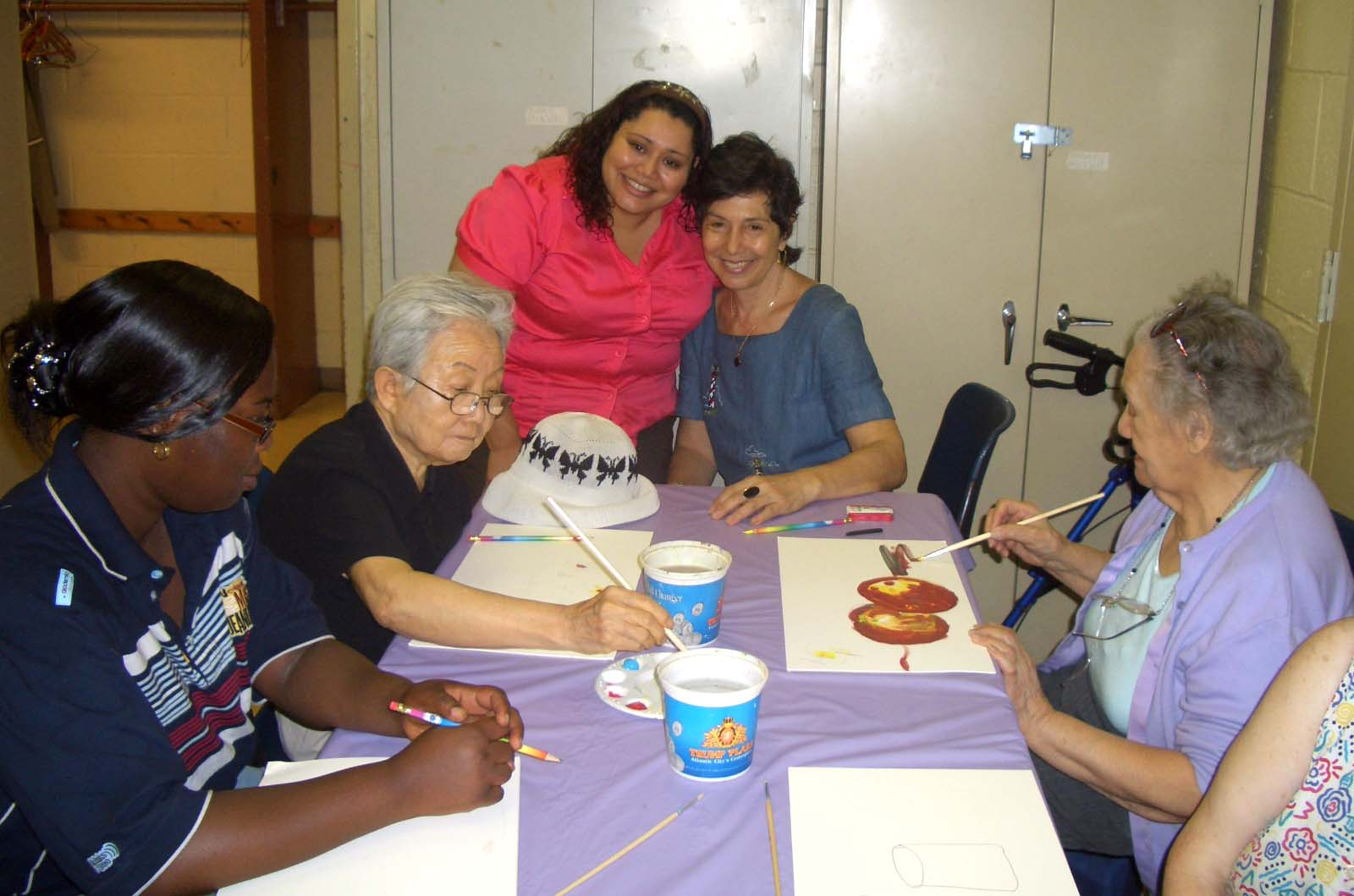 Glenda and Loren at Senior workshop.jpg