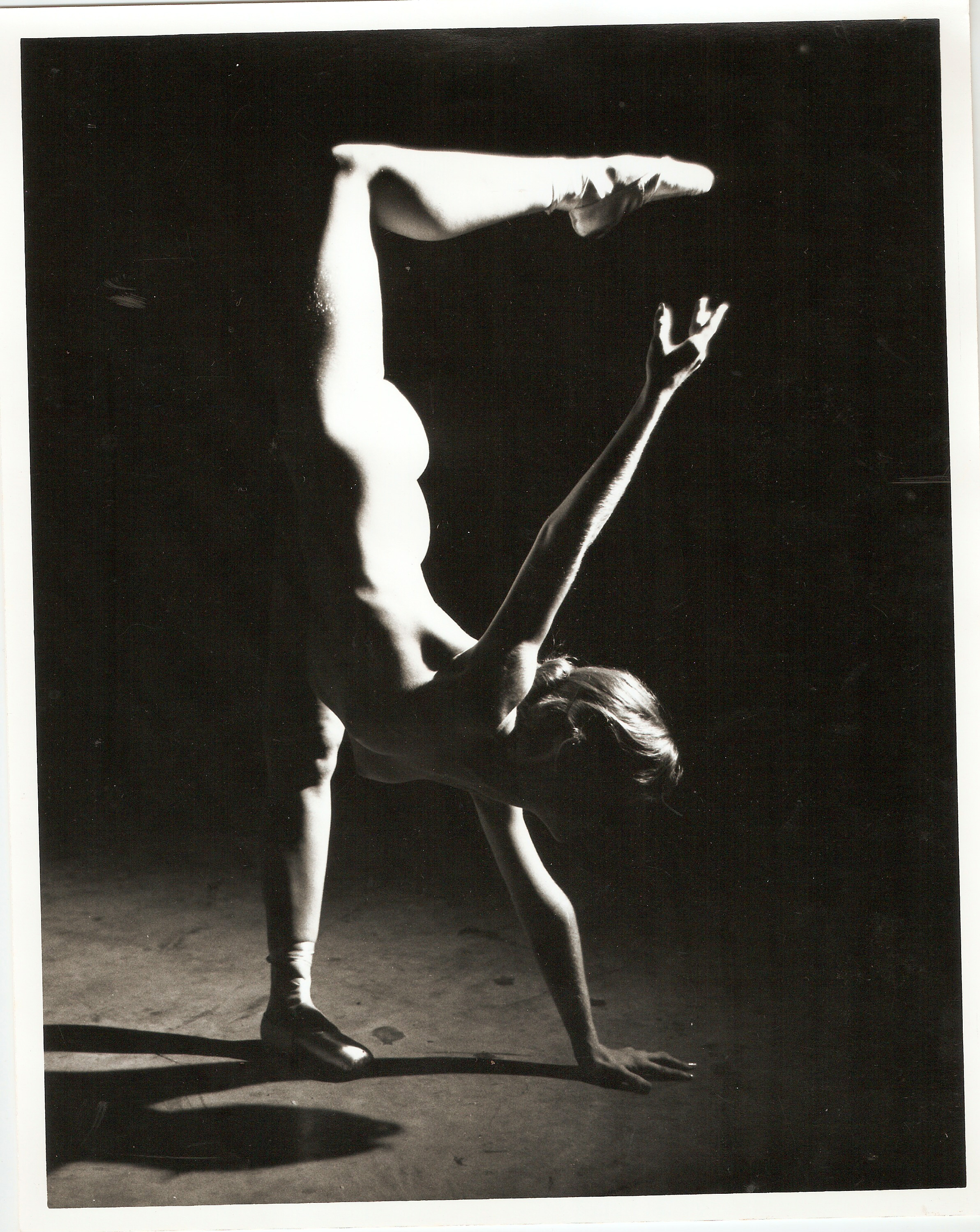 Loren Ellis Ballet  in Fla. Painting Studio 2 of 3 8x10 1979.jpg