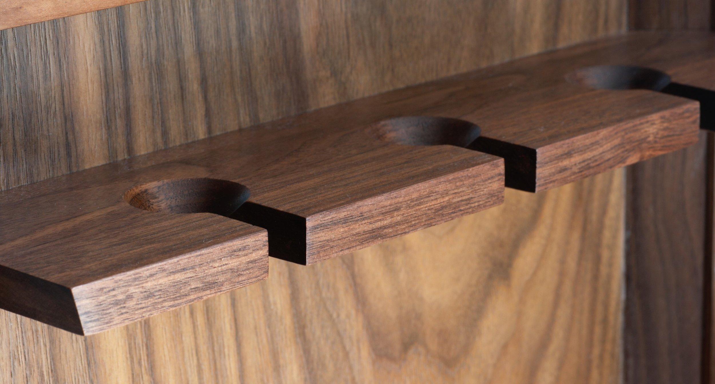 Heliconia Furniture Walnut Steel wine glass holder.jpg