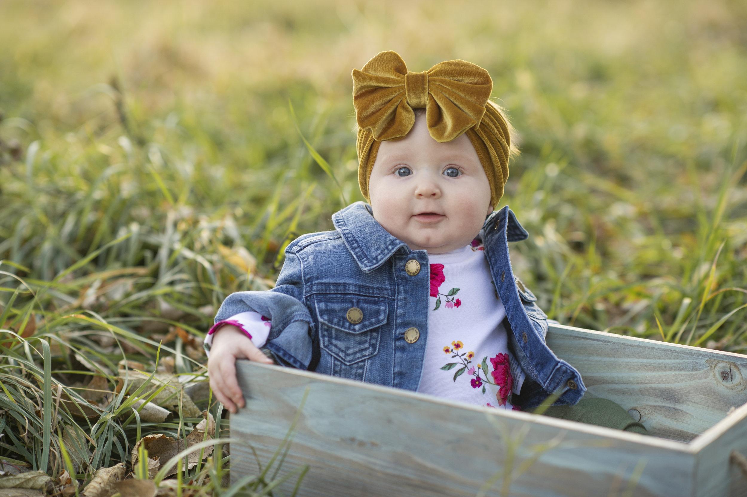Atalie - Six Month Milestone Pictures