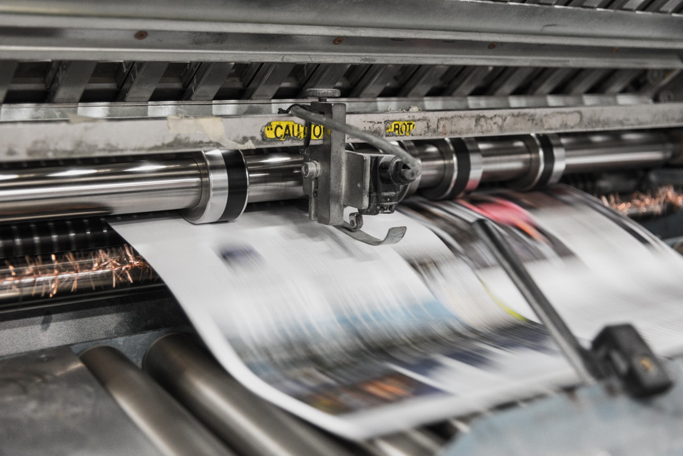 Offset Printing - aka Lithography: Common & consistent.