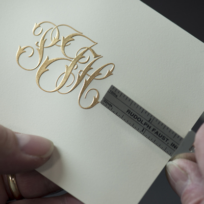 Engraving - Most expensive, least common.