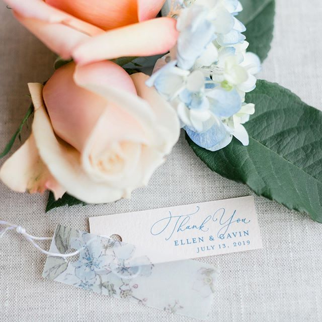 Is there anything cuter than these little olive oil favor tags with vellum? I'll wait. 😉 . . .  Venue: @dovemeadowsnc | Photo: @samanthalaffoon | Stationery & Calligraphy: @oceanandcoralcreative | Design: @sarahduckworthevents | Floral: @weddingswithbarbara | Beauty: @calistott_artistry | Dress & Accessories: @haydenoliviabridal | Groom: @menswearhouse | Rentals: @evermoreeventco, @nuagedesignsinc & @partytimerentals | Cake: @daphnessbakery