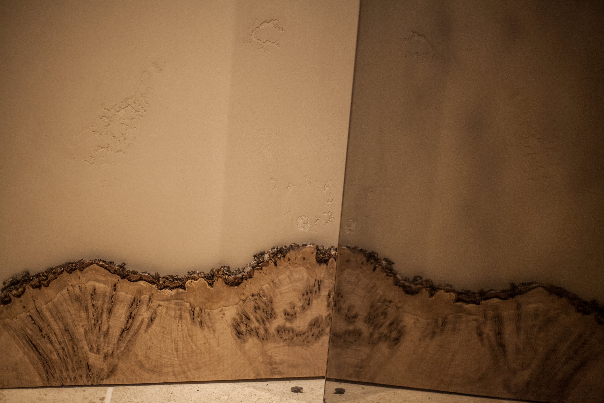 Wall Finishes and Details Live Edge Skirting Reflection These White Walls Studio Interior Design Hide Restaurant London