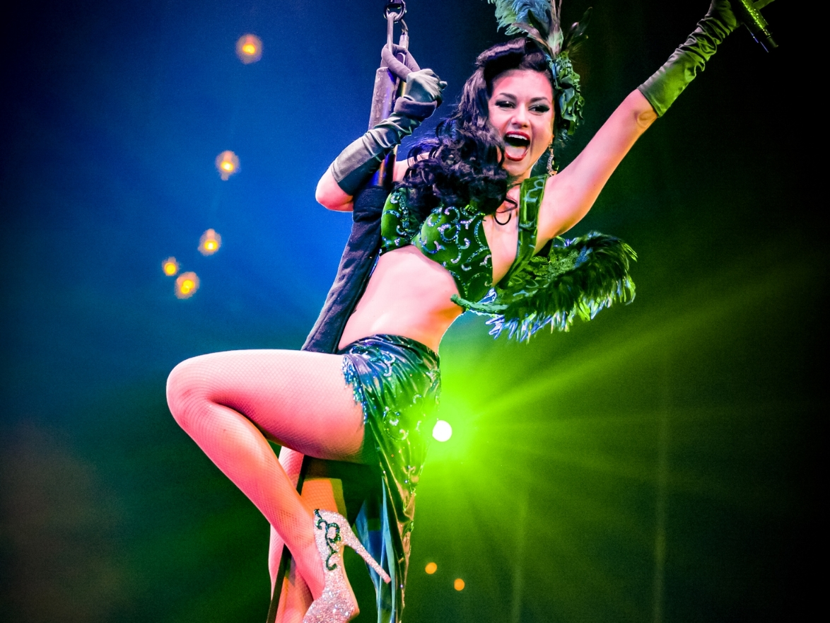 Absinthe - If you only see one show in your entire life, make it Absinthe.