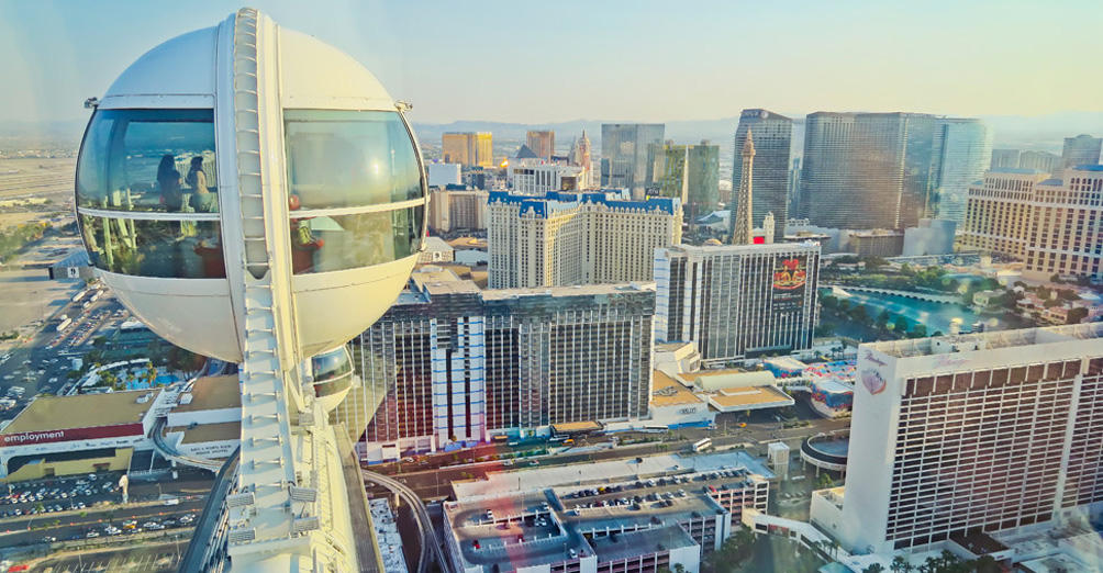 High Roller: Day - The world's tallest observation wheel
