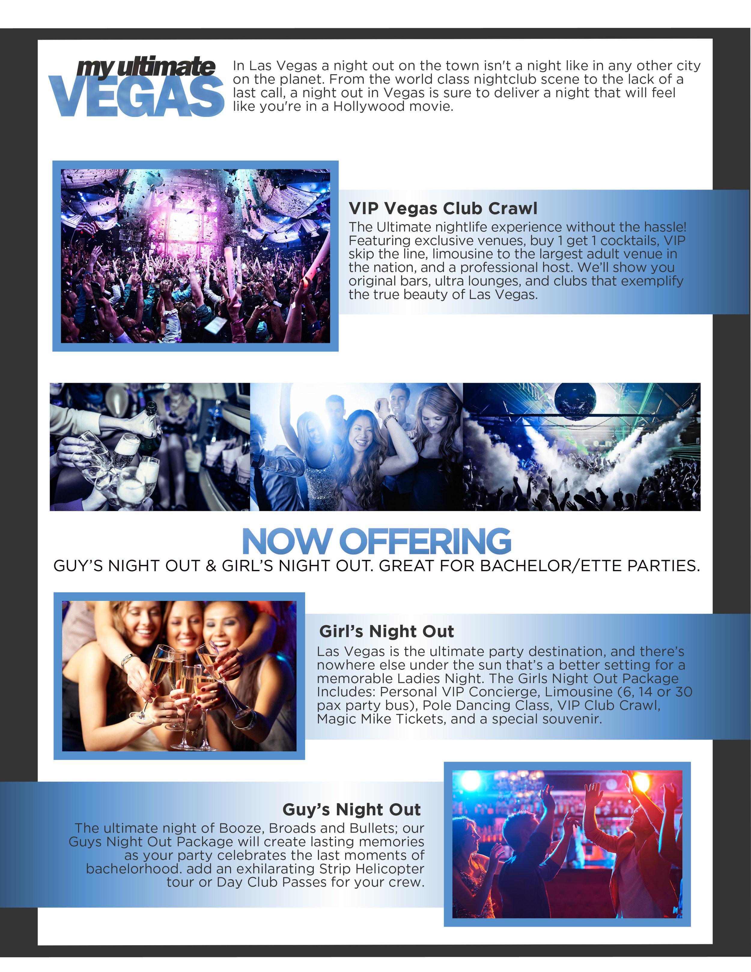 My Ultimate Vegas - Club Crawls