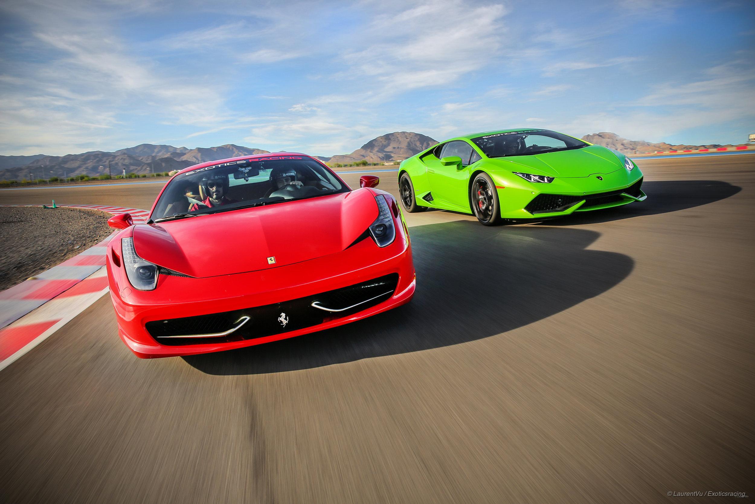1- Main Image - Ferrari Italia & Lamborghini Huracan.jpg