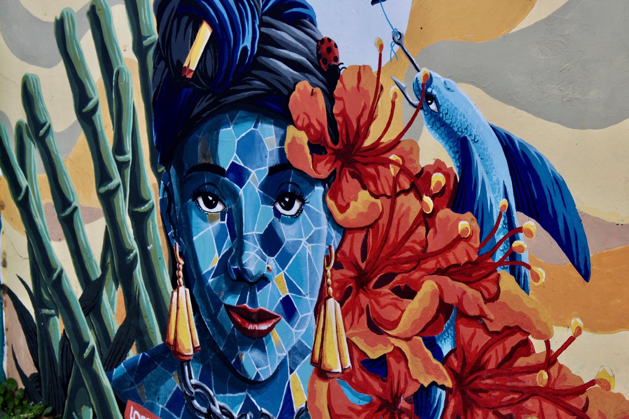 Mural, Barbados