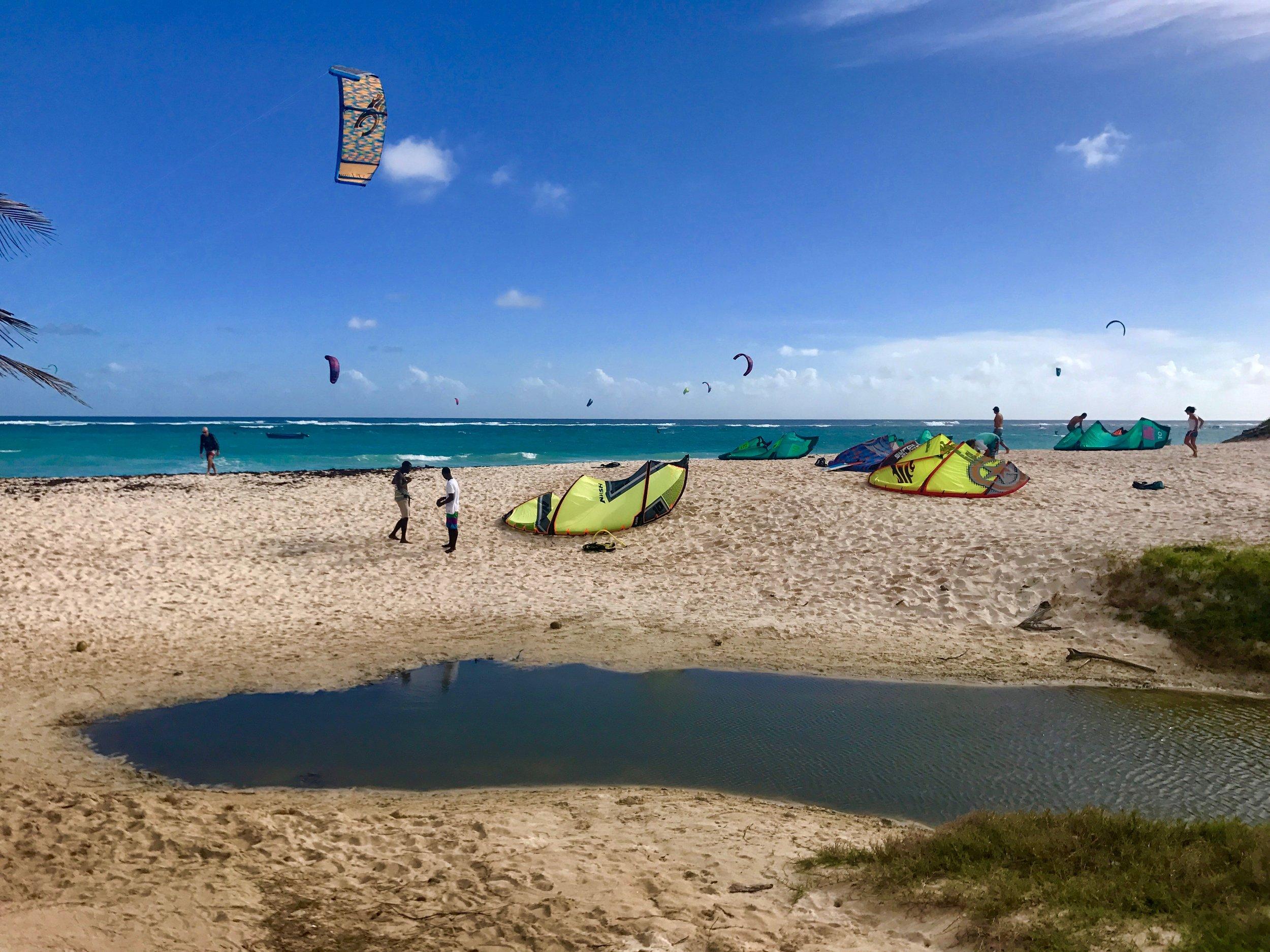Silver Sands beach, Barbados