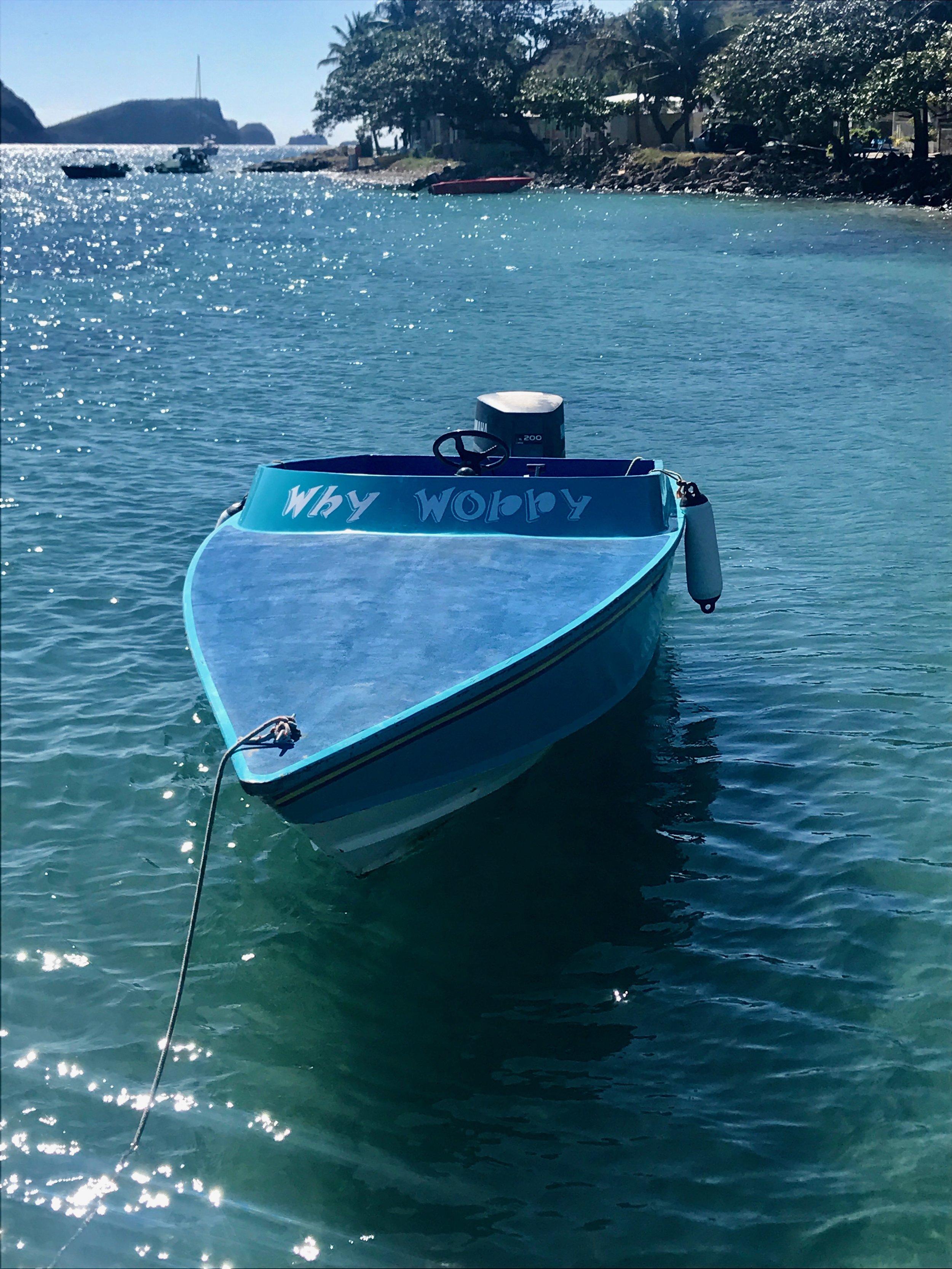 Favorite color, favorite boat name
