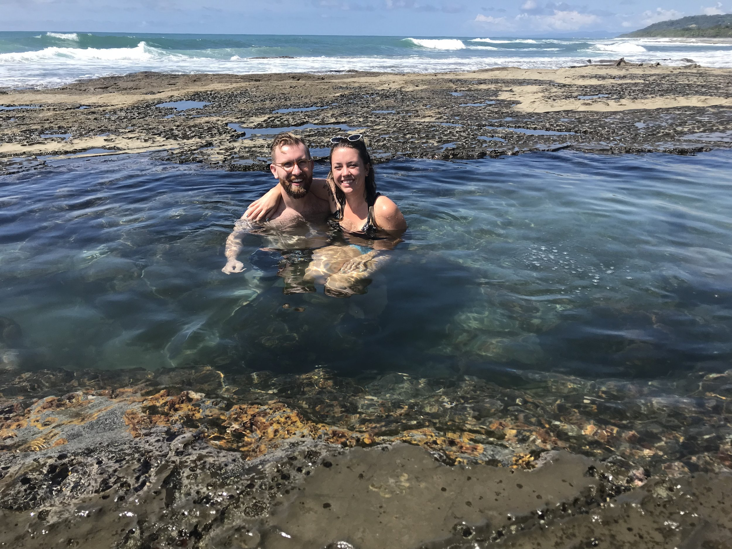 Mal País tidal pools