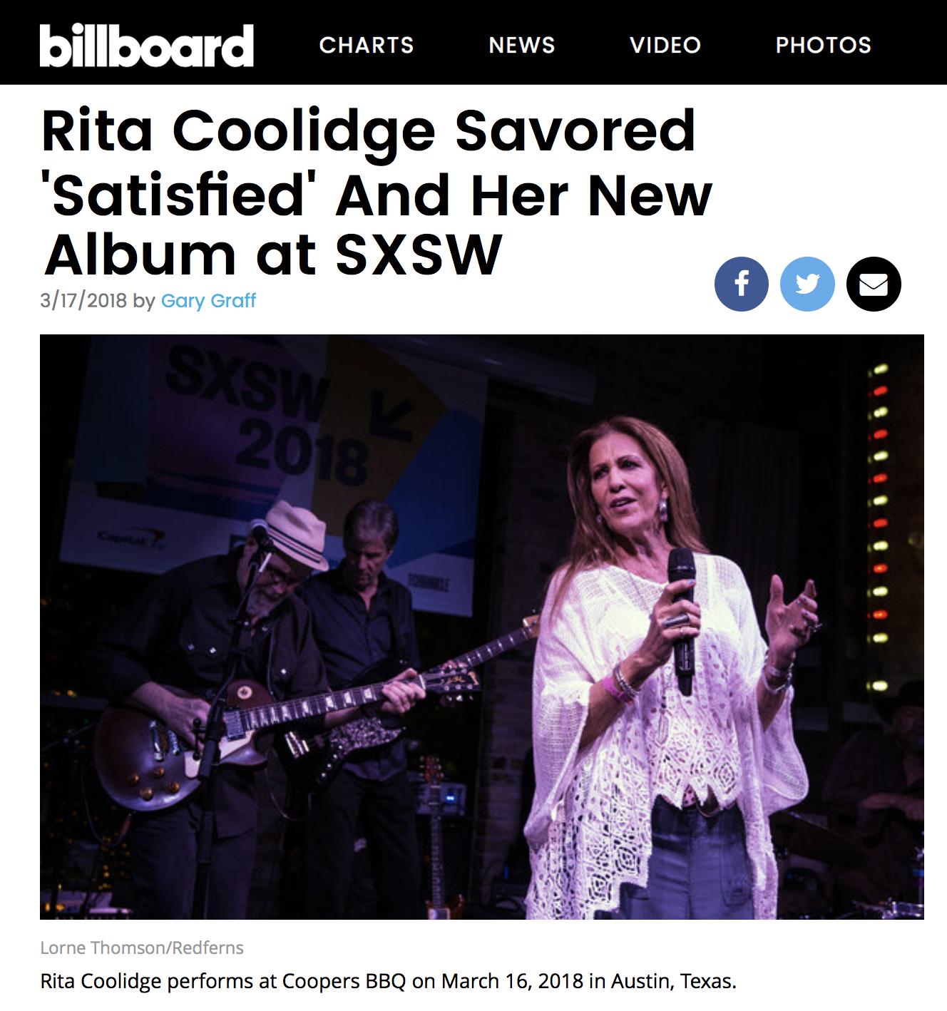 SEE ARTICLE ON BILLBOARD.COM