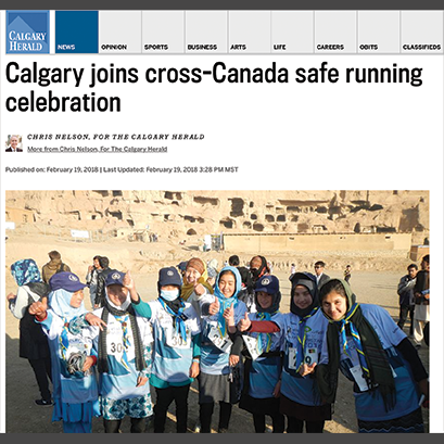 CALGARY HERALD ARTICLE