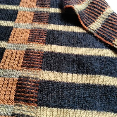 Soho Plaid, 2013 | Fabric Detail | Mohair, Wool, Bamboo