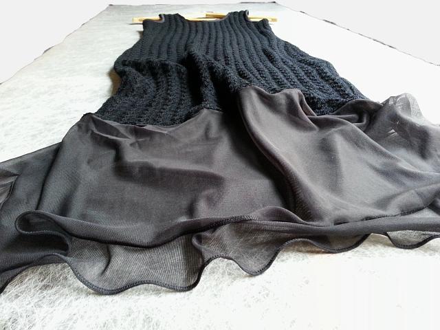 LMFS, 2014 | Dress | Wool, Nylon Knit Fabric