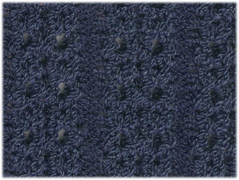 Eyelet Rib | 80% Wool, 20% Rayon