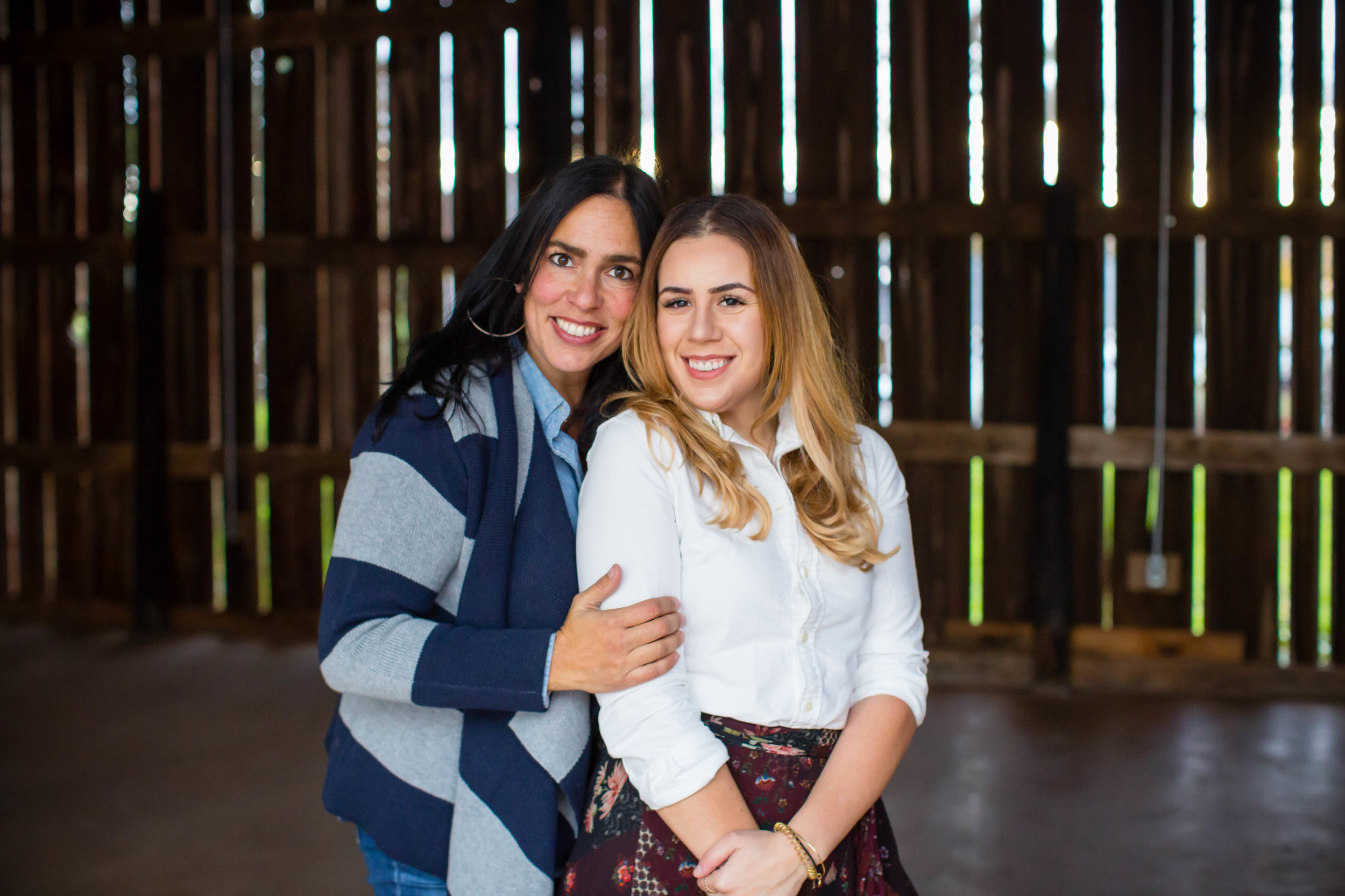 Sharon Boustani (left) and Victoria Boustani (right) Mother-Daughter team behind Gilbertsville Farmhouse.