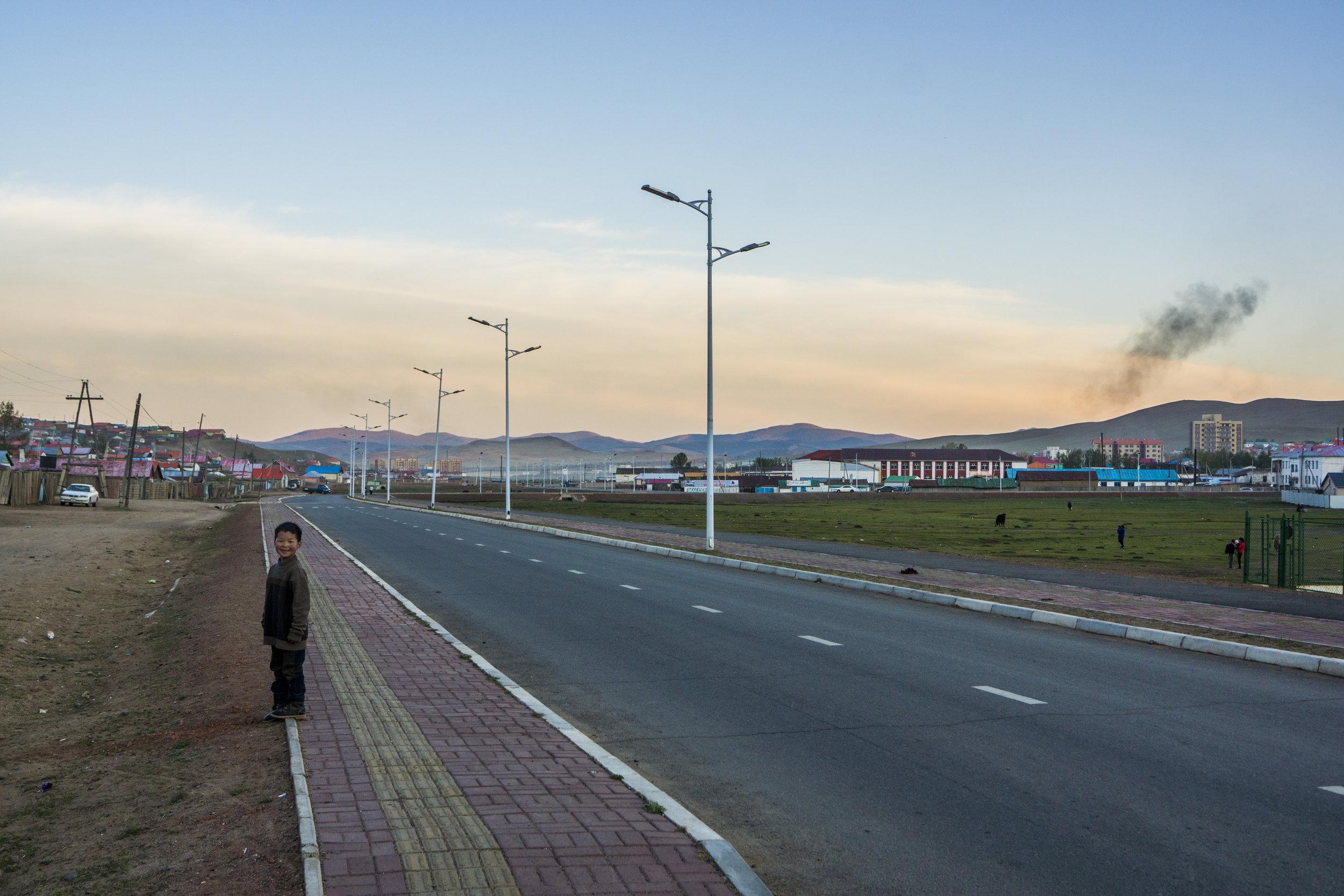 Tsetserleg, Arkhangai, Mongolia.