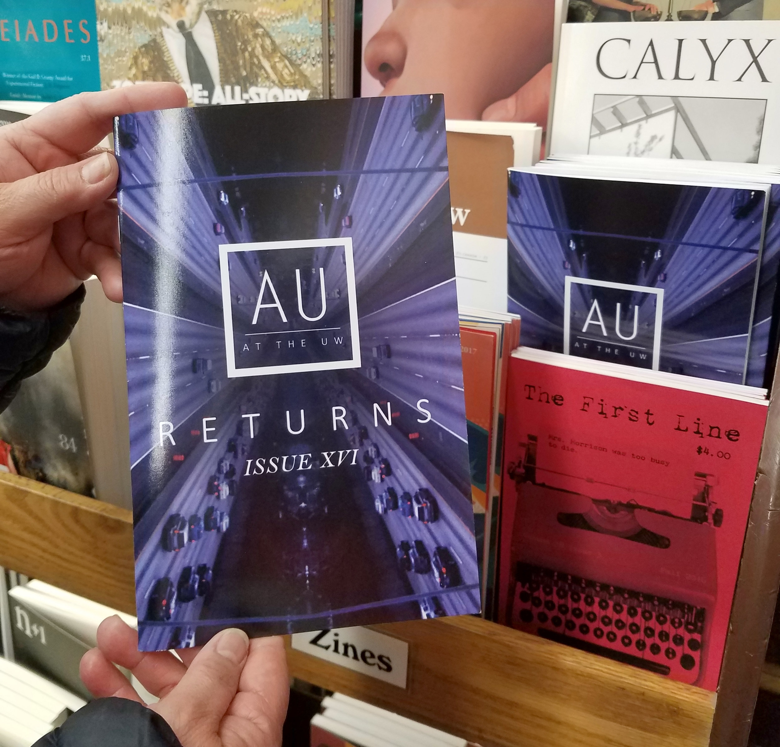 AU Literary Journal Physical Copy