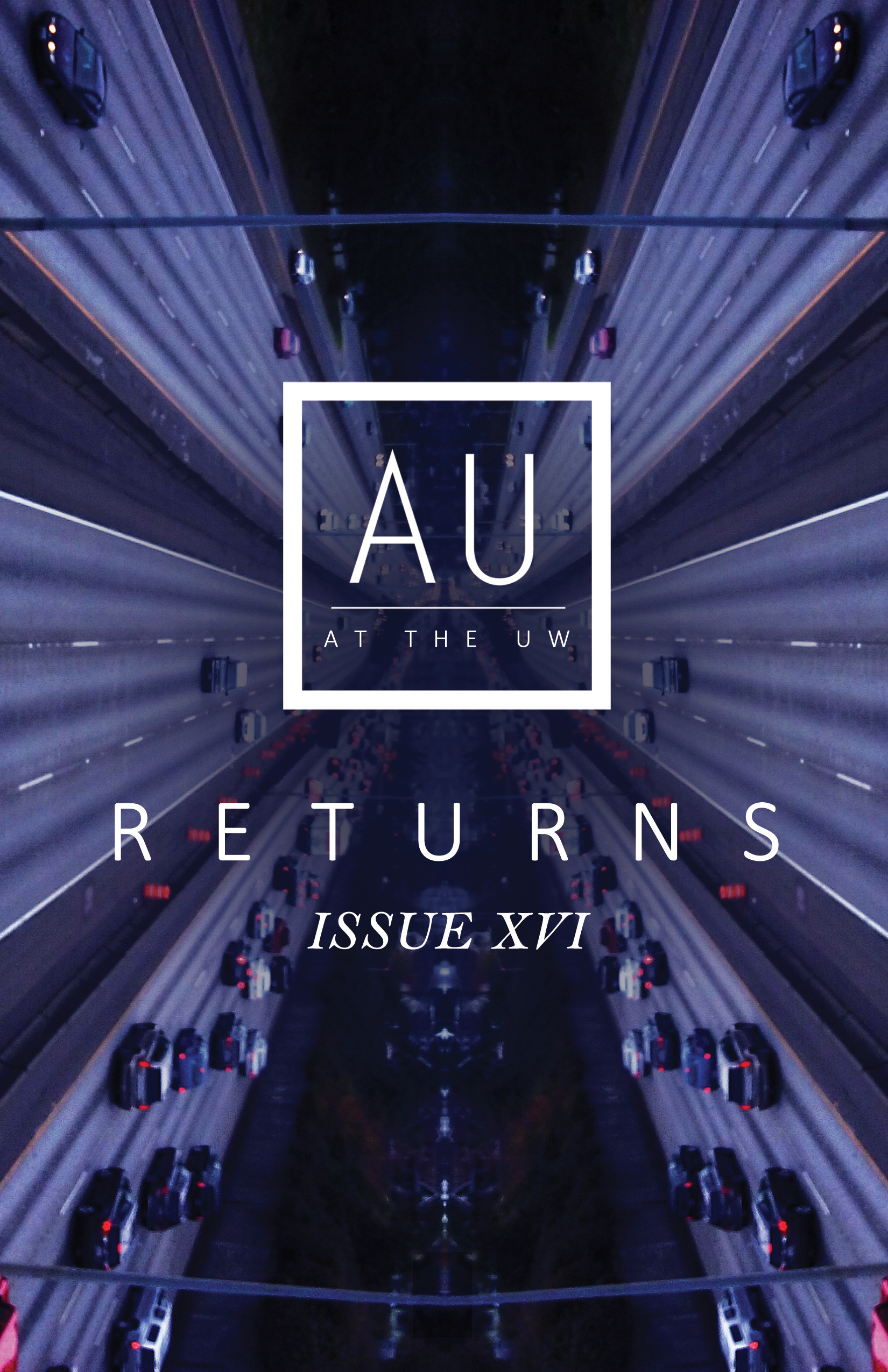 The cover of  AU Issue XVI: Returns.