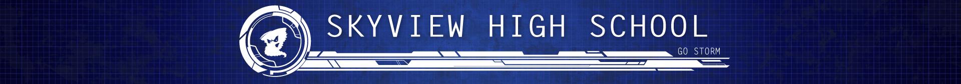 Skyview High School Banner