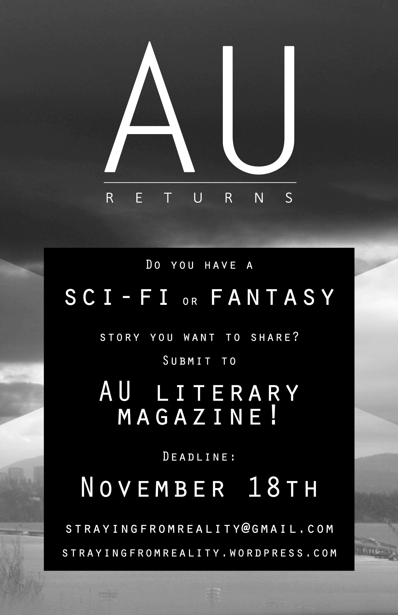 Issue XVI: Returns Flyer, Black Version