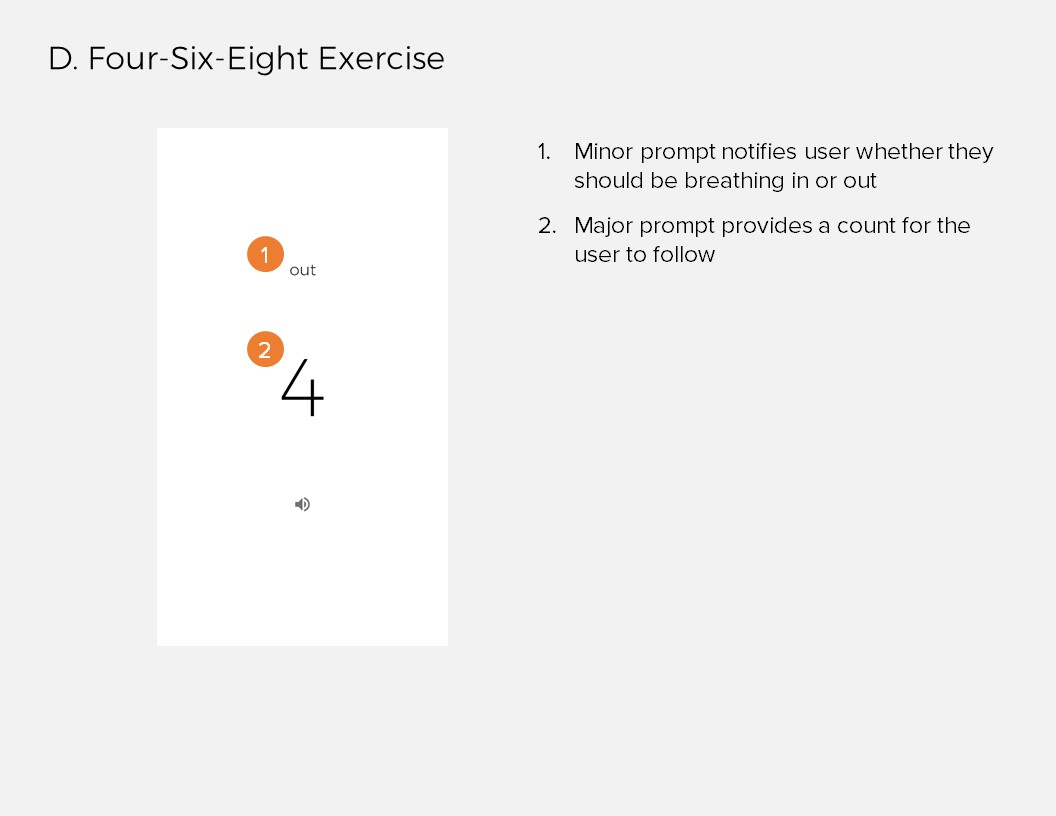 Annotations 4: D. Four-Six-Eight Exercise
