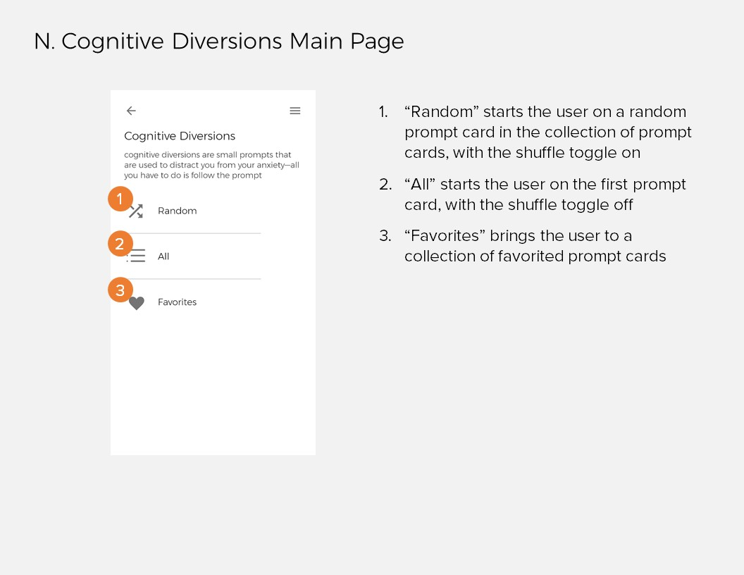 Annotations 13: N. Cognitive Diversions Main Page