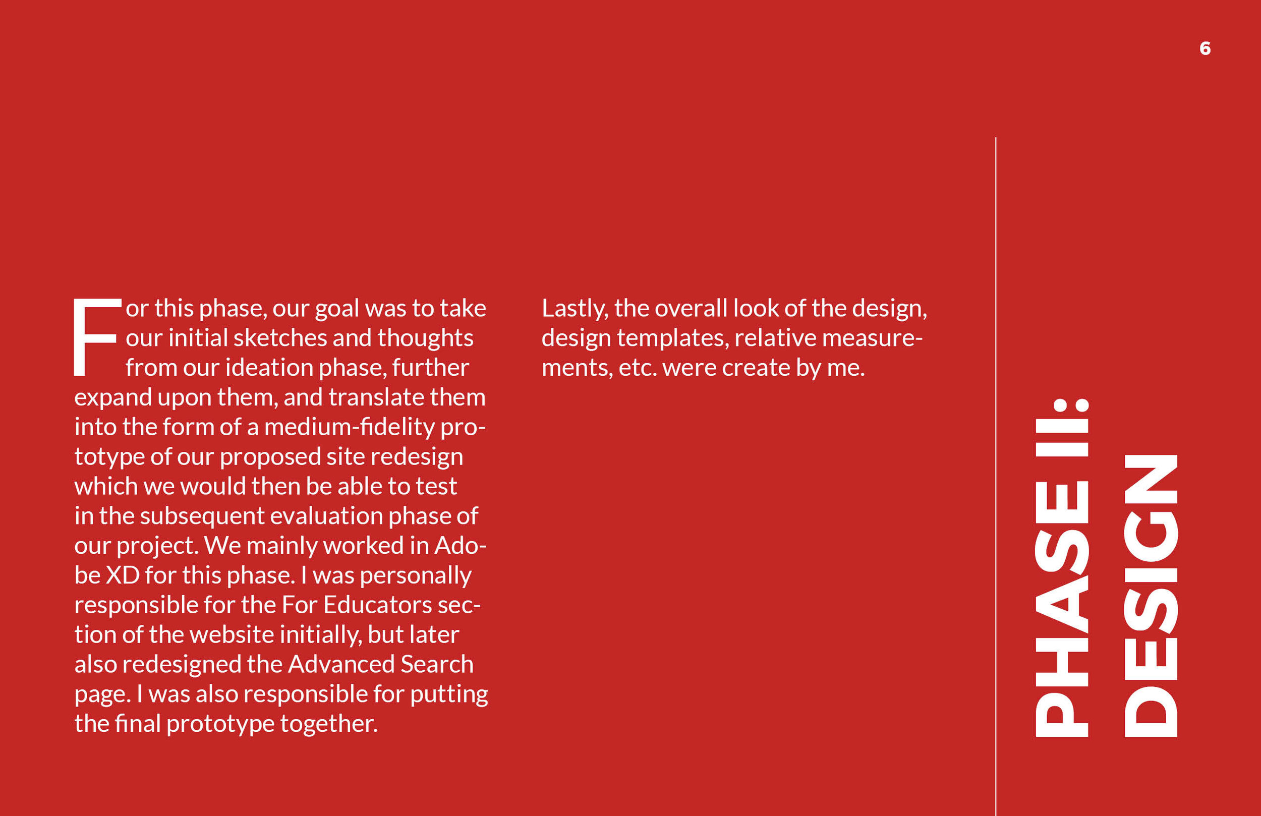ArtsWA My Public Art Portal Process Book Phase II: Design Page 1
