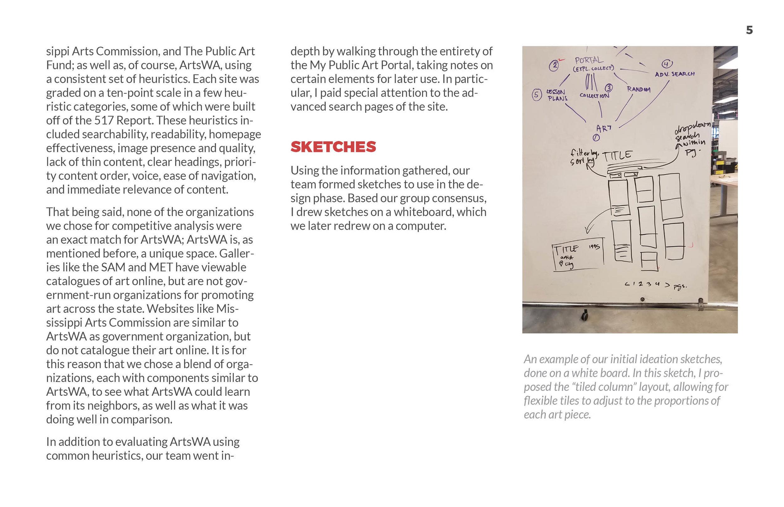 ArtsWA My Public Art Portal Process Book Ideation Page 3