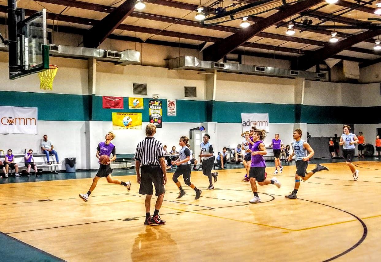 Coaching 8th Grade - We are purple.