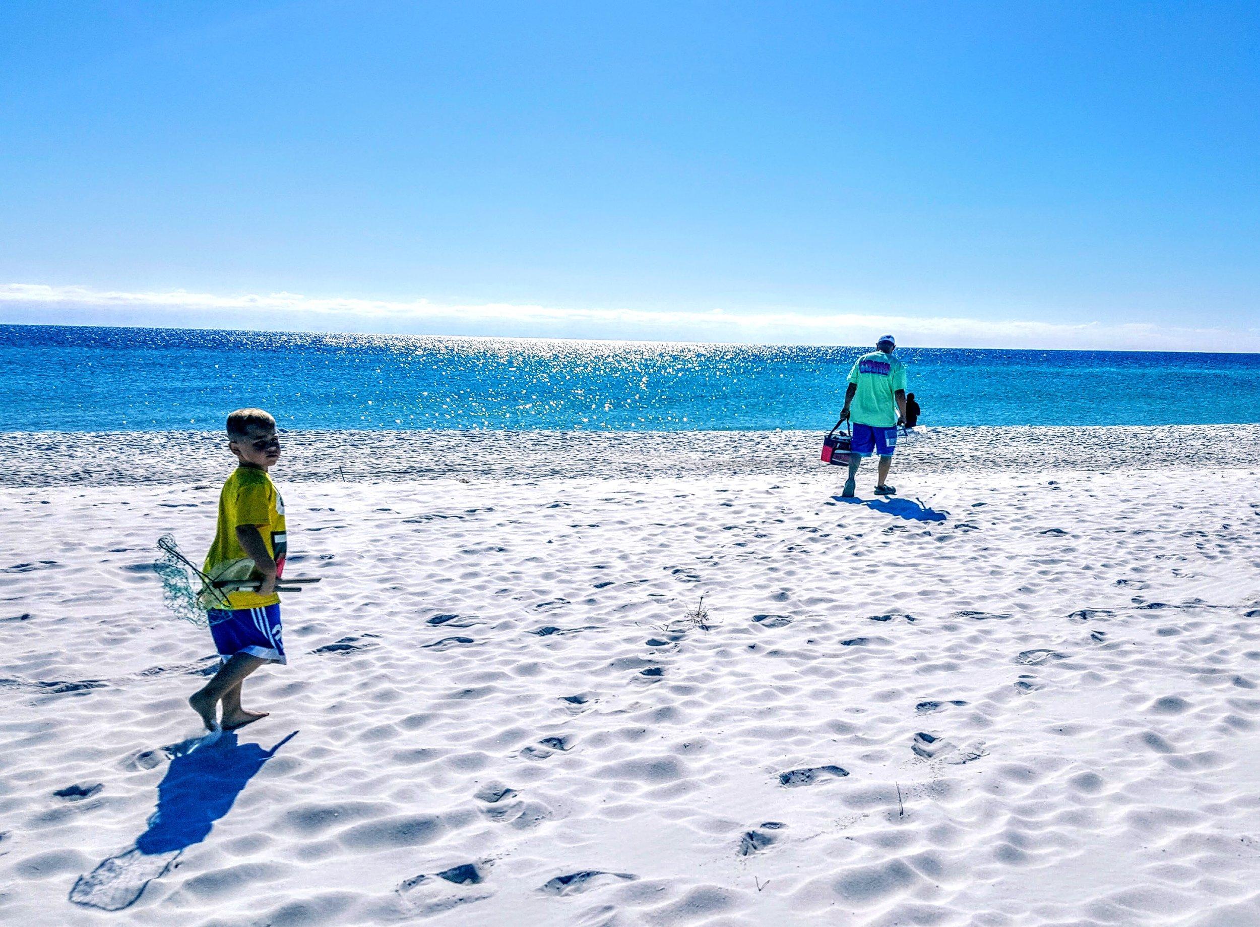 Matthew Albertell Photography Man and Son Gulf of Mexico.jpg