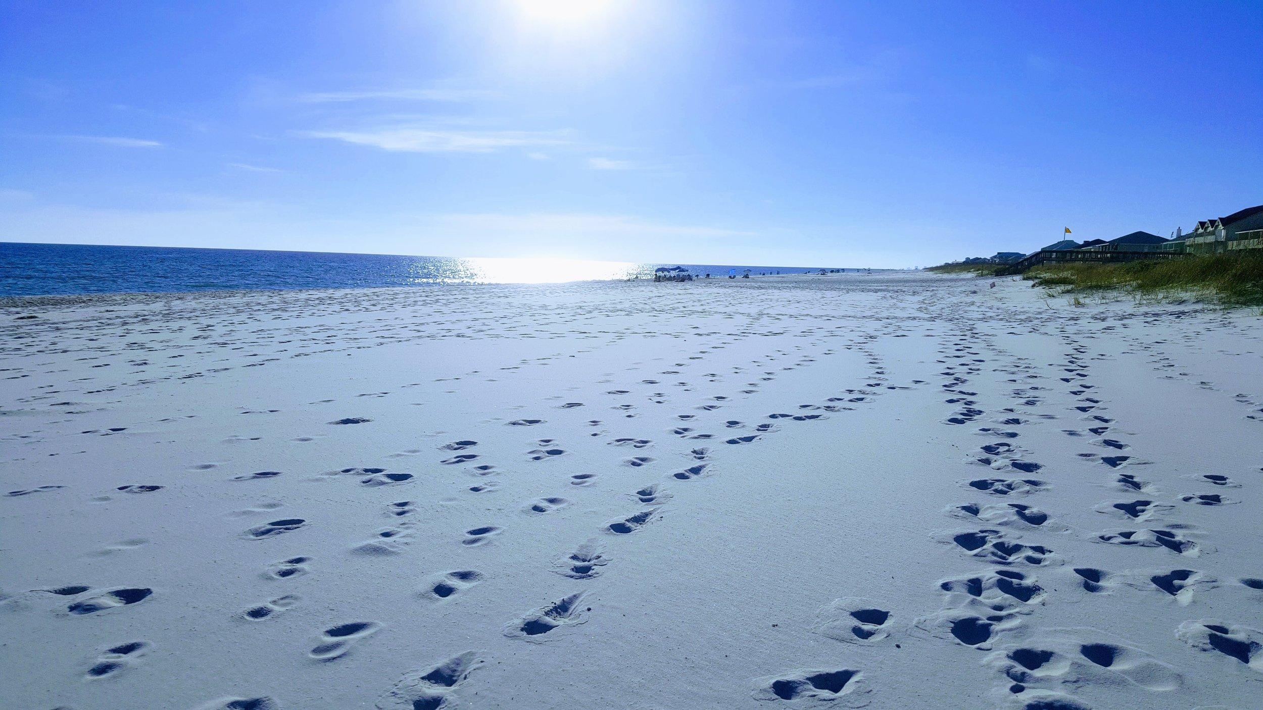 Matthew Albertell Photography Footsteps in the sand.jpg