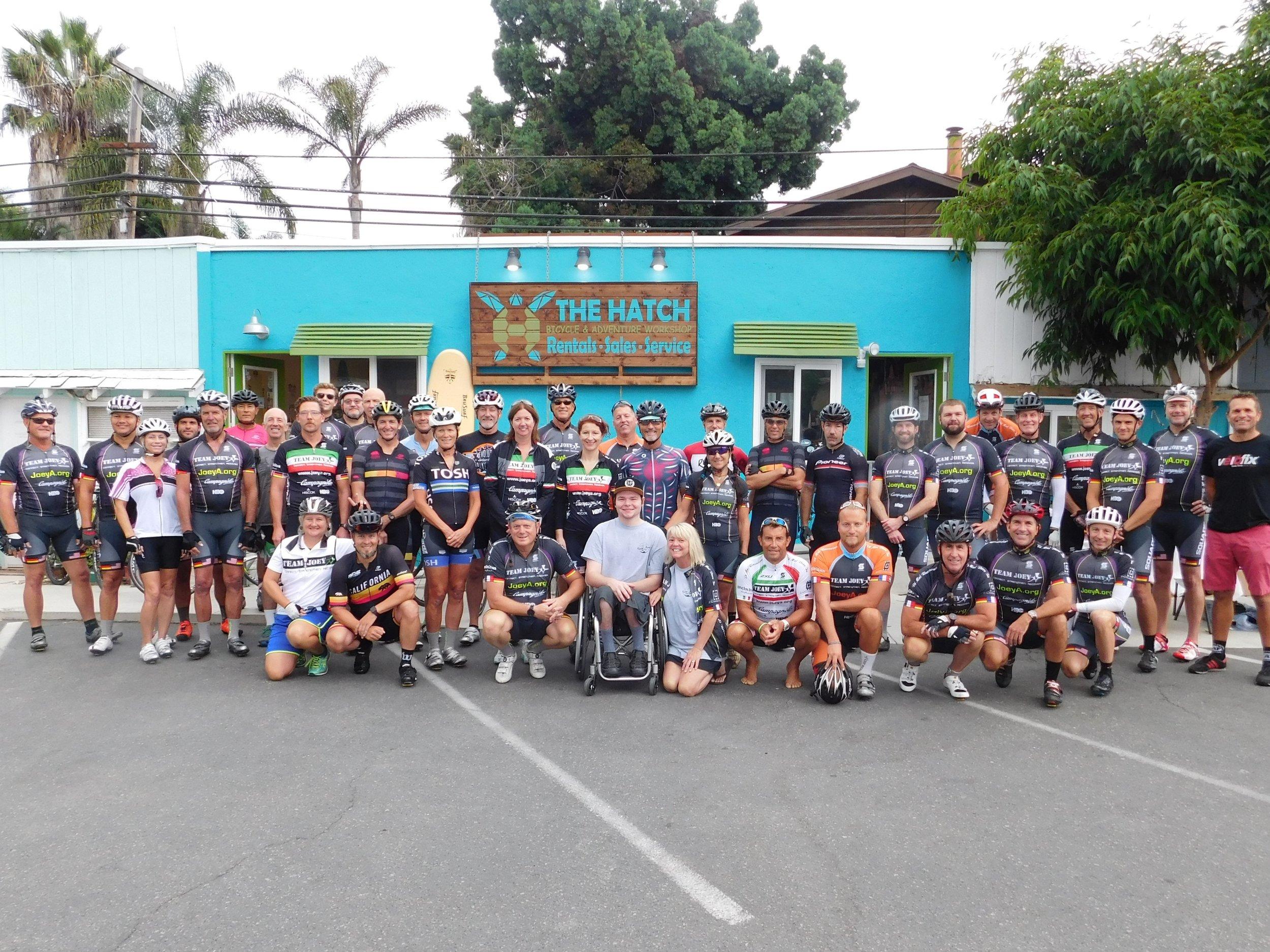 2017 Team Joey Cyclists
