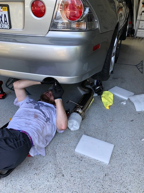 Replacing old exhaust -