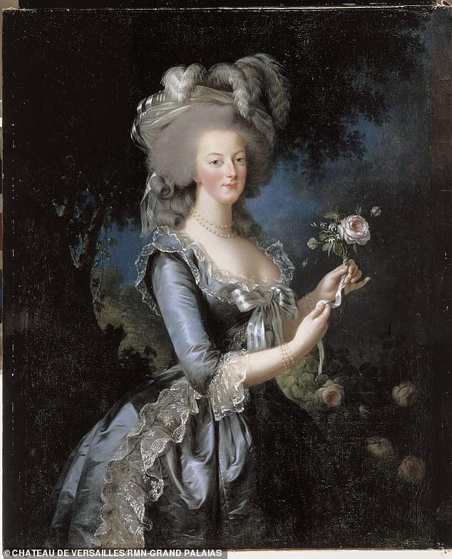 A 1783 portrait of Marie-Antoinette by Elisabeth Vigée Le Brun