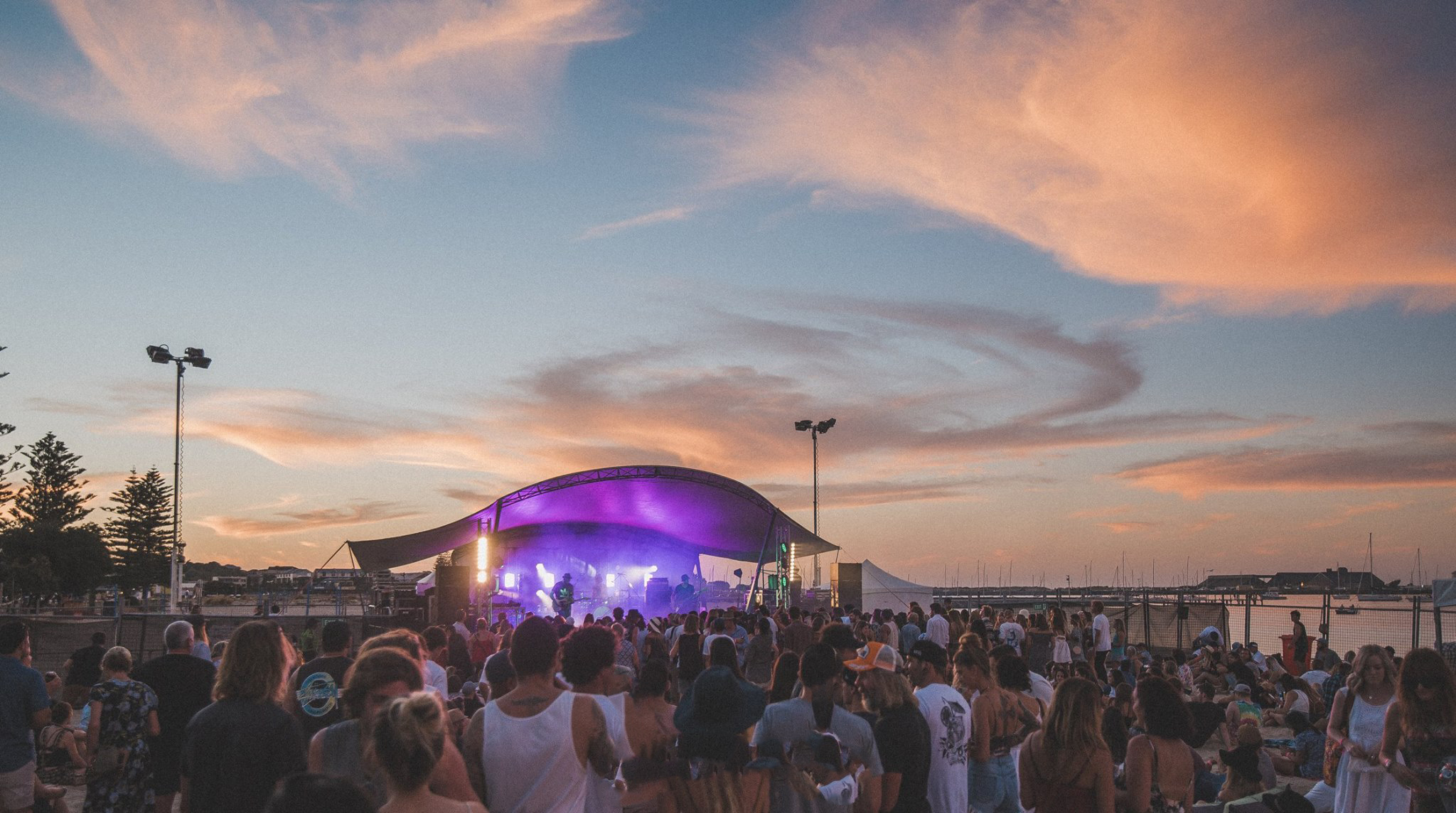 Live by the Bay - A small beach side music festival in Bunbury. Dunn Bay is perfect for this.