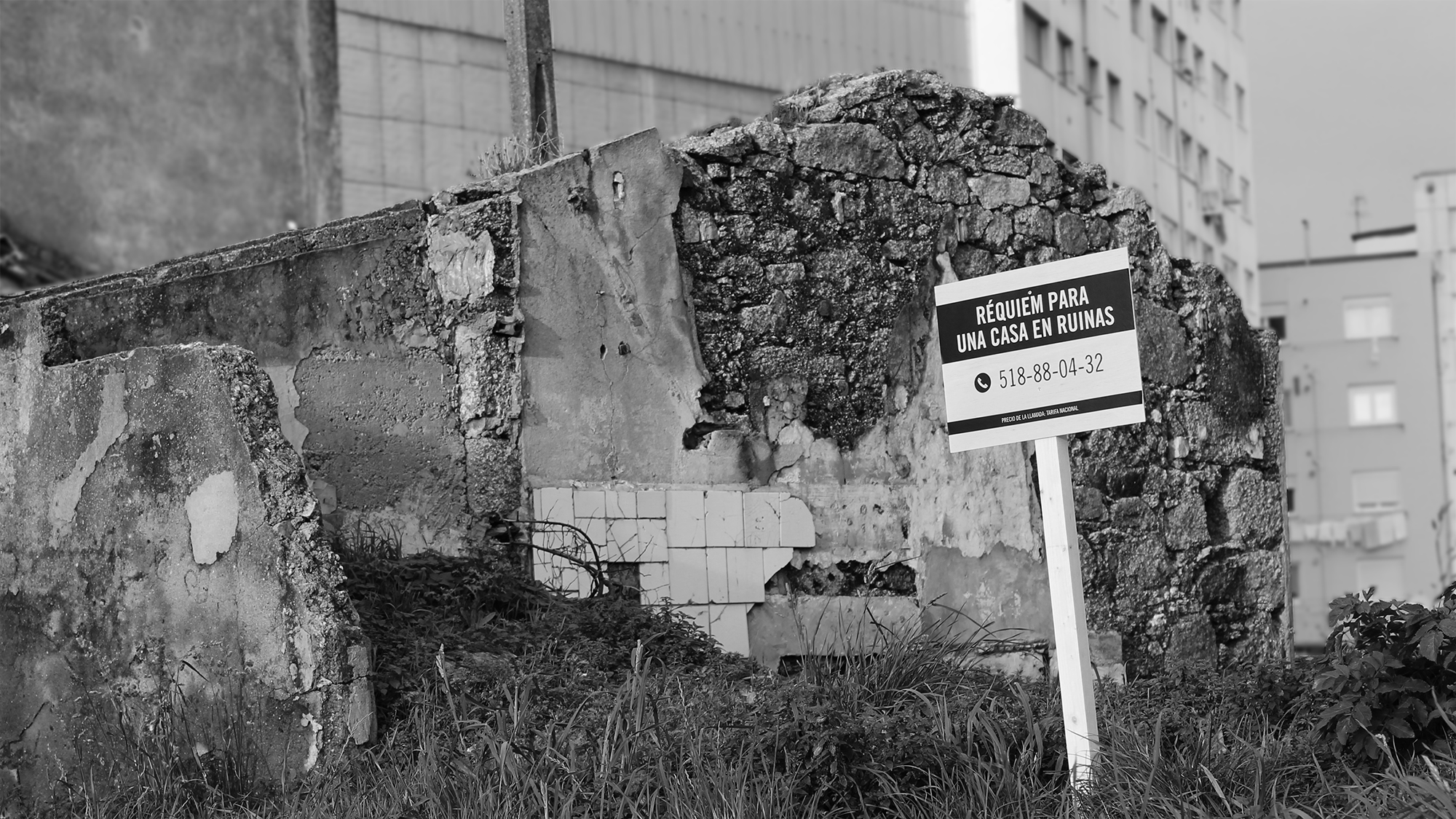 The Sign: Requiem for a Ruined Home