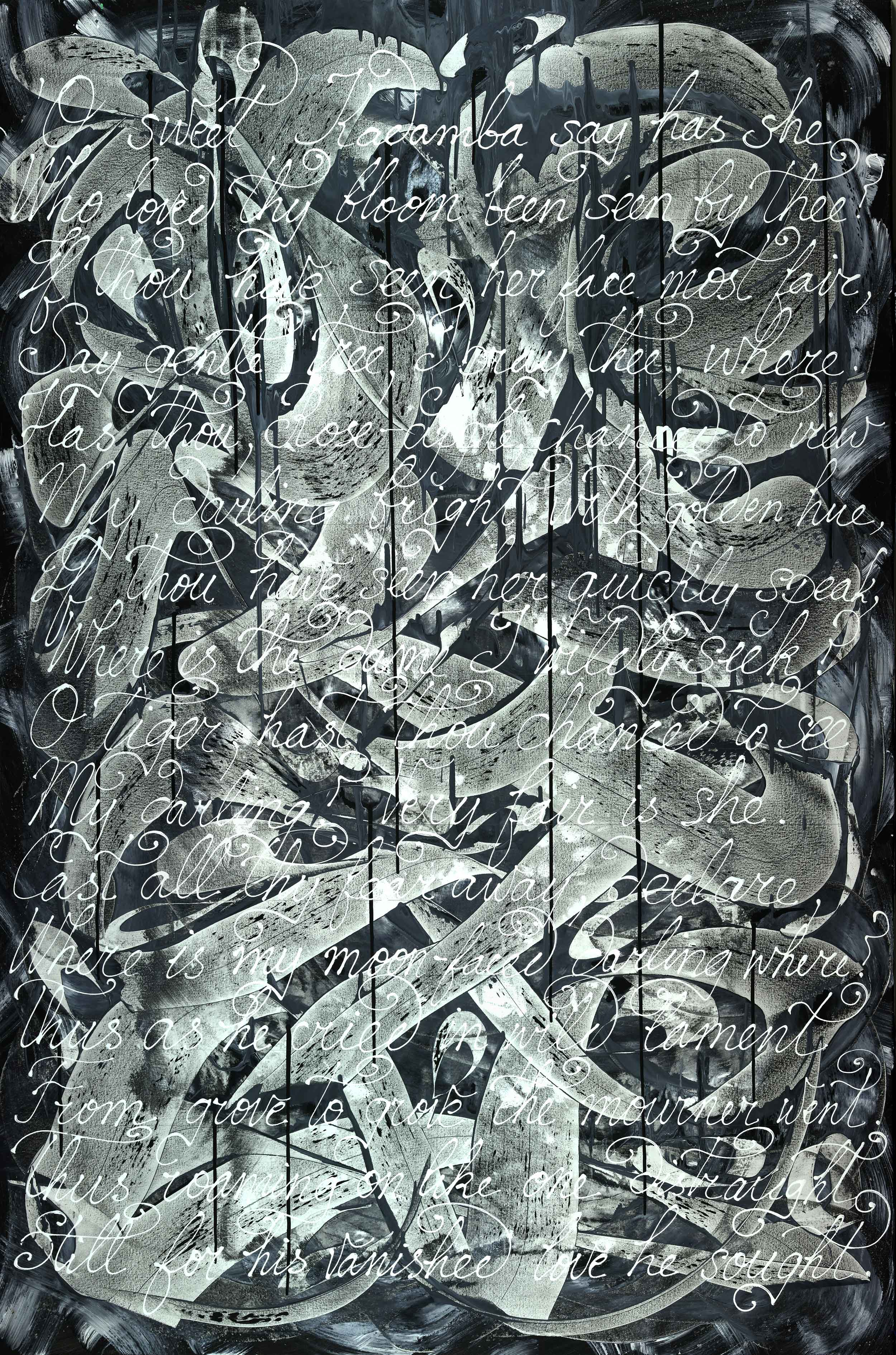 """As Life Is Wont To Do - 72""""H x 48""""W"""