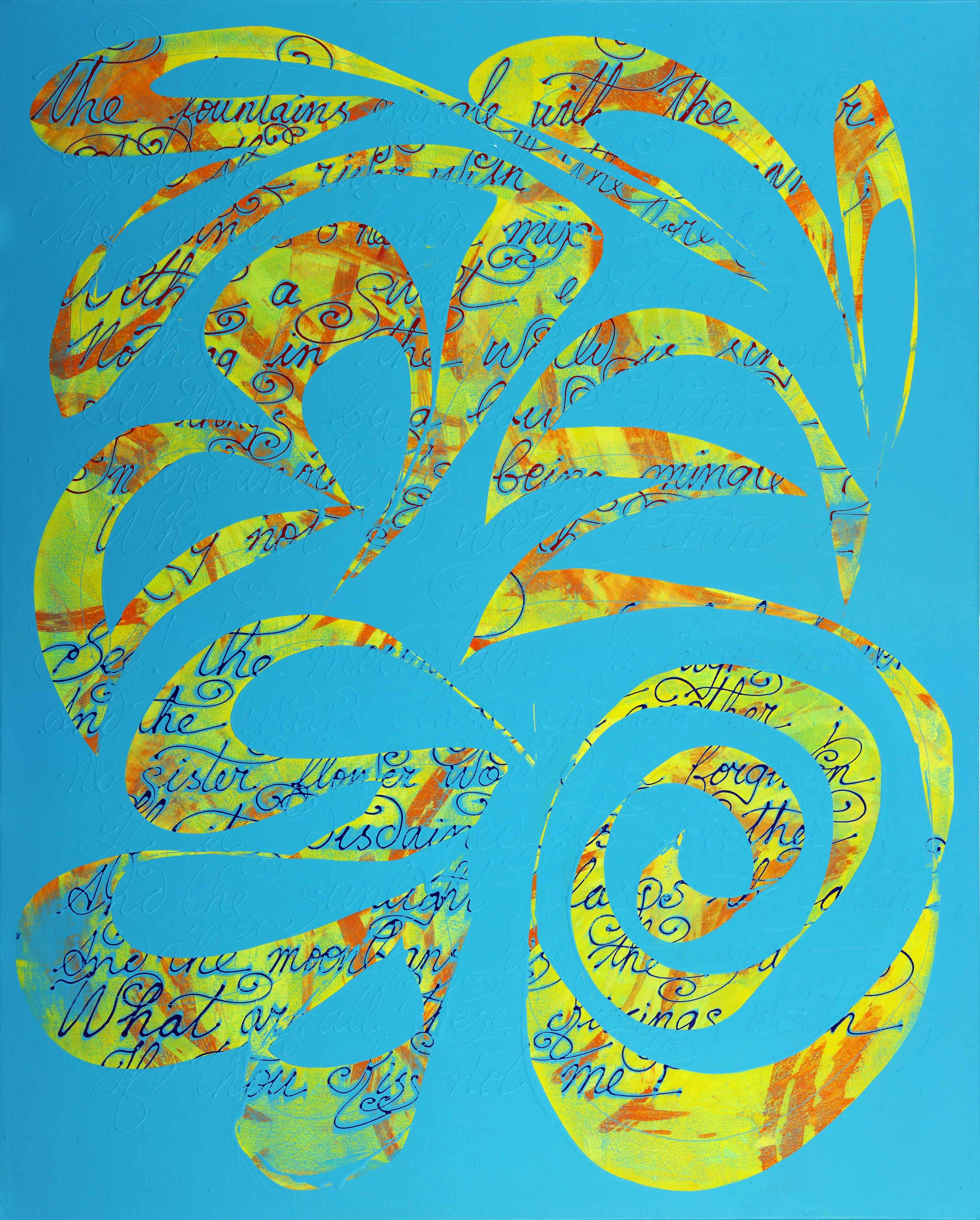 """The Defiance of Divine Law - 60""""H x 48""""W"""
