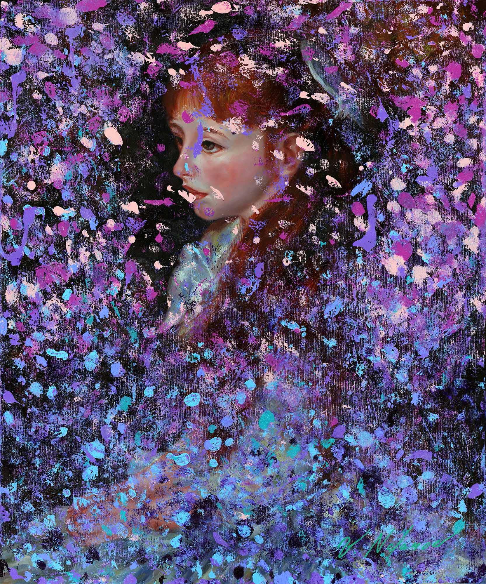 """Portrait Of A Storm 24""""H x 20""""W"""