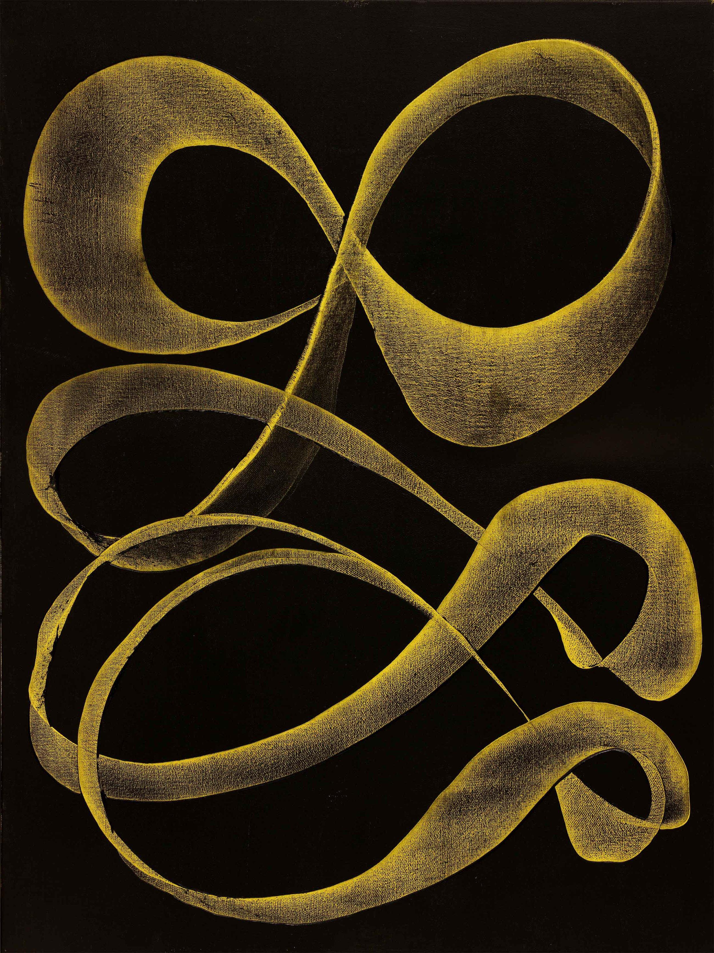 "Goldeneye 48""H x 36""W"